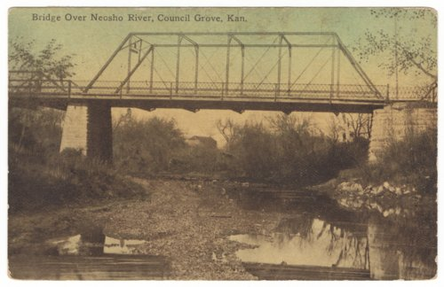 Neosho River bridge, Council Grove, Kansas - Page