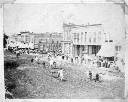 Circus parade, Council Grove, Kansas - Page
