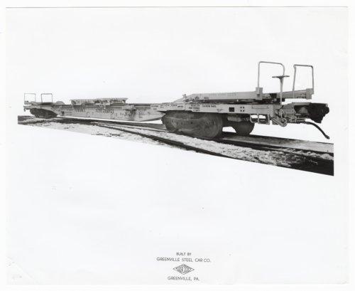 Atchison, Topeka & Santa Fe Railway Company's flat car 291021,Greenville, Pennsylvania, - Page