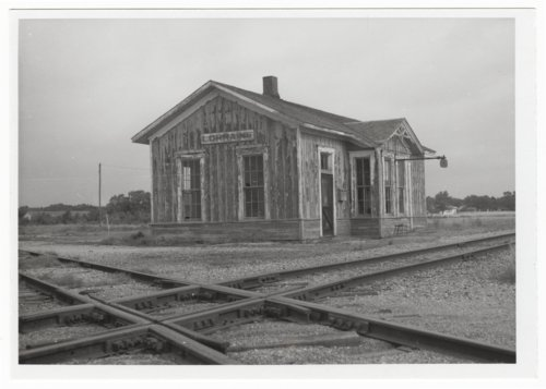 Atchison, Topeka and Santa Fe Railway Company depot, Lorraine, Kansas - Page