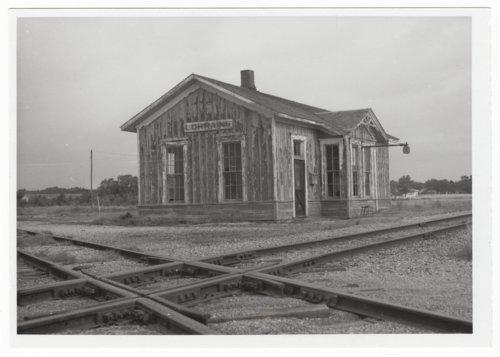 Atchison, Topeka & Santa Fe Railway Company depot, Lorraine, Kansas - Page