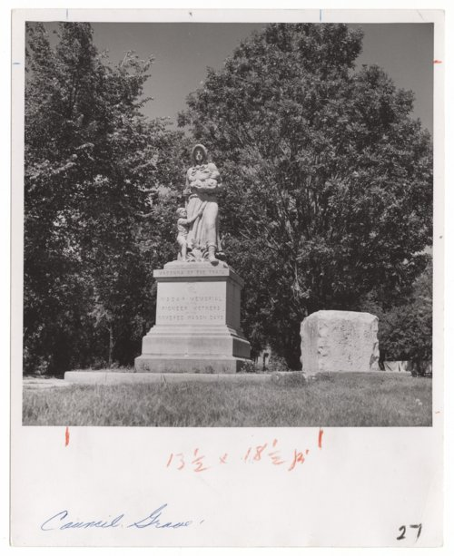 Madonna of the Trail, Council Grove, Kansas - Page