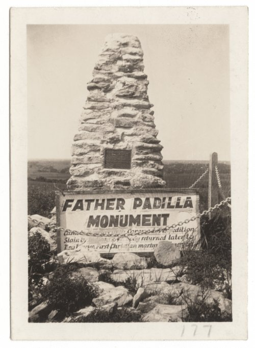 Father Padilla Monument, Council Grove, Kansas - Page