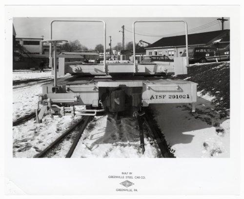 Atchison, Topeka & Santa Fe Railway Company's flat car 291021, Greenville, Pennsylvania, - Page