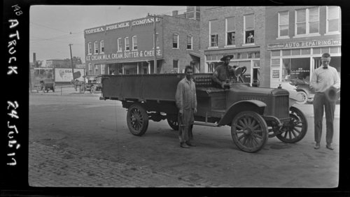 """A"" Truck, Topeka, KS - Topeka Pure Milk Co - Page"