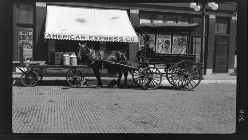 6th Street, Pittsburg, Kansas, American Express & Ringling Brothers Circus - Page