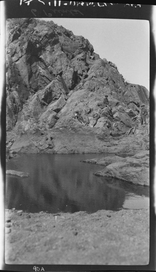 Scenery Near Ft. Sill - Small Lake - Page