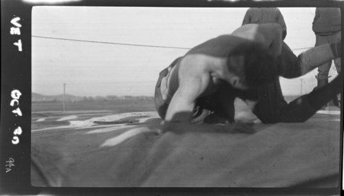 Vet. Browne - Wresting - Page