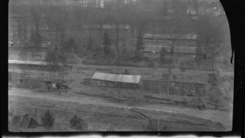 Camp Senegalais - Looking East, France, - Page