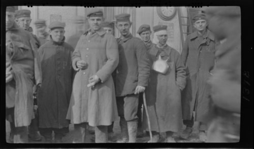German Prisoners - Nubecourt, France - Page