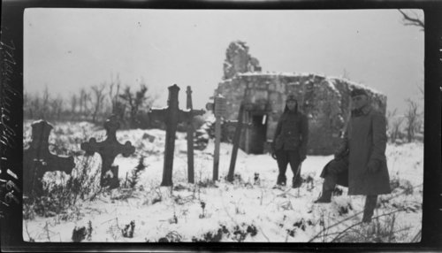 Manhevilles - German graves, France - Page
