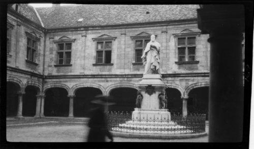 P (?) Granvella, Courtyard - Besancon, France - Page