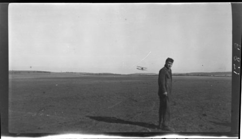 Le Valdahon, Aeroplanes - taking off, France - Page