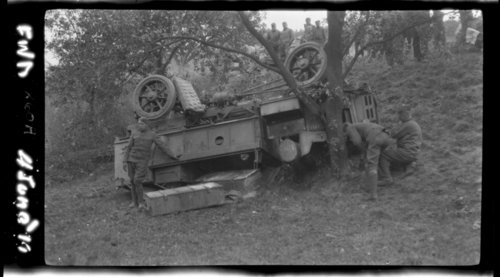 FWD over Bank Nr. Anrweiler, South of Bonn, Germany; U. S. vehicle - Page
