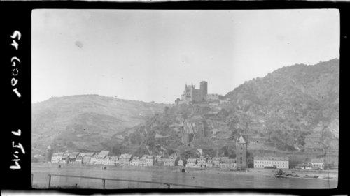 Castle, St. Goar - on Rhine, Germany - Page