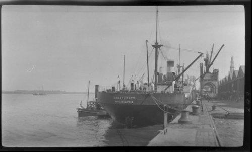 Ship in Harbor, Antwerp, Belgium, Sagapiracy, Philadelphia - Page