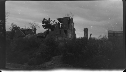 Ruins - Arras, France - Page