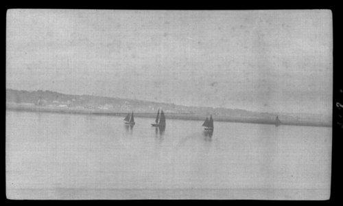 Brest Harbor - fishing smacks, France - Page