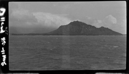 Diamond Head from SS Maunakea, Hawaii - Page