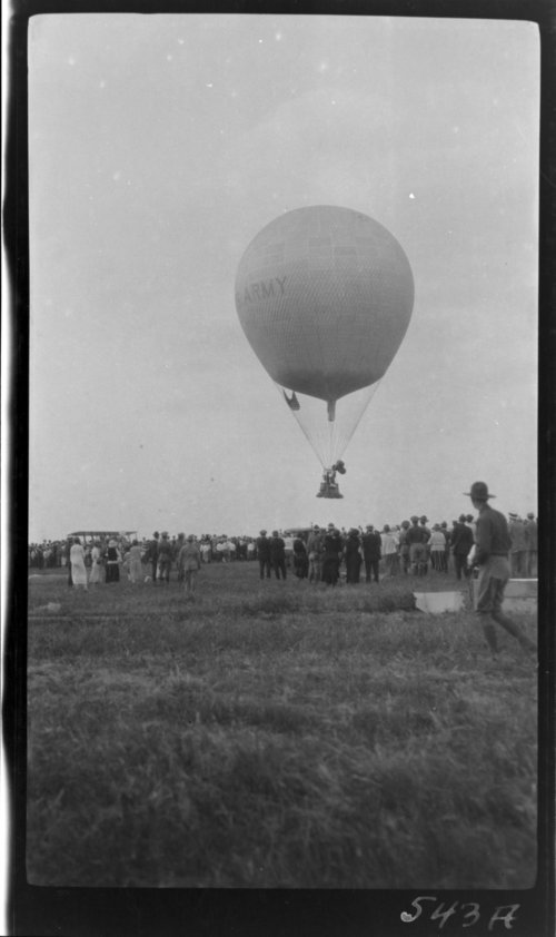 National Balloon Race, U. S. Army - Page
