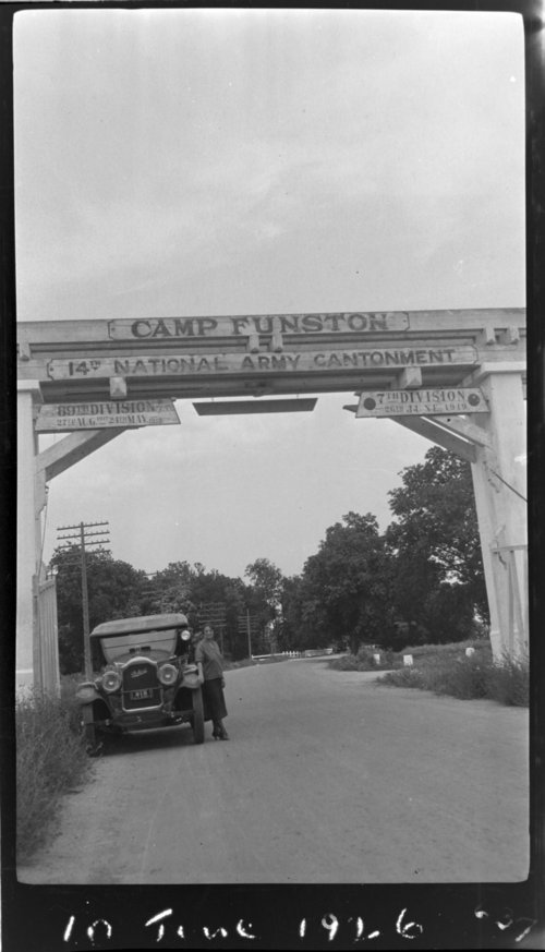 Camp Funston Gate - Page