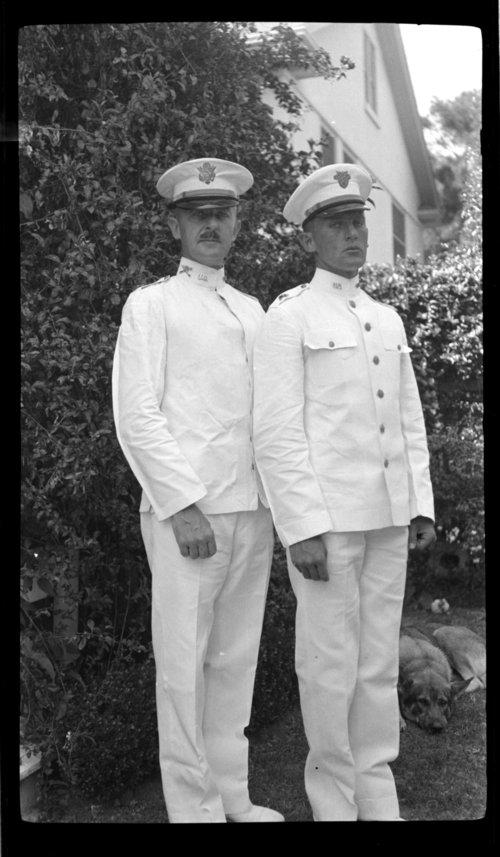 James' Furlough, JCH & James in uniform - Page