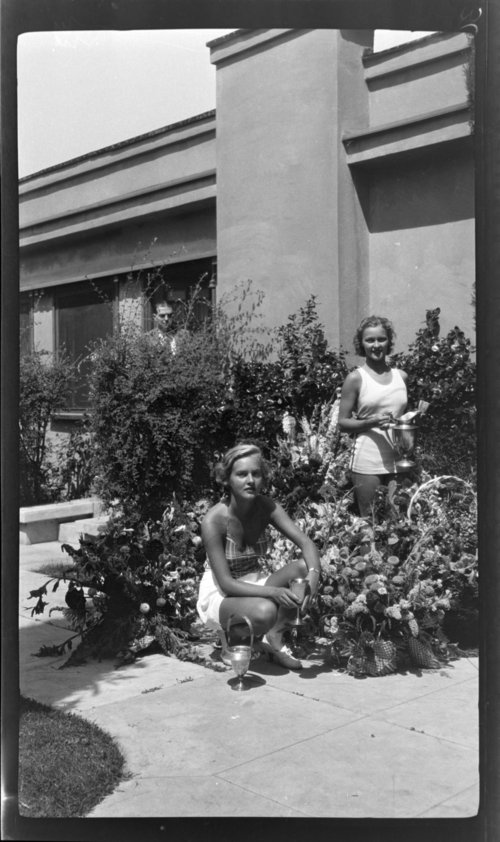 LB: Peggy & Betty, In swim suits - Page