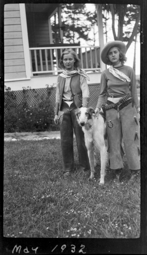 Monterey, Cowgirl outfits & dog - Page