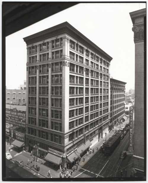 Atchison, Topeka & Santa Fe Railway Company's general office building, Los Angeles, California, - Page
