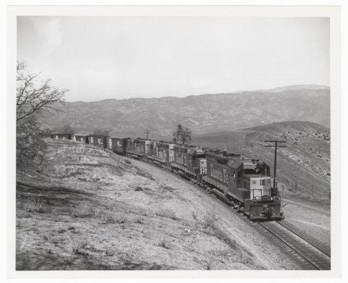 Atchison, Topeka & Santa Fe Railway Company freight train, Tehachapi Mountains, California - Page