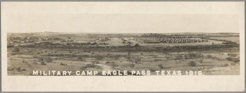 Military camp at Eagle Pass, Texas - Page