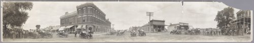 Panoramic view of Greensburg, Kansas - Page