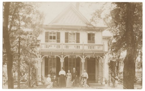 Gathering at a house in Council Grove, Kansas - Page