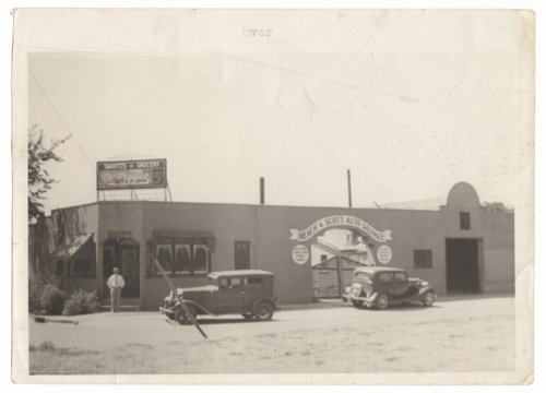 Swartz Grocery and Beach & Scott Auto Salvage in Council Grove, Kansas - Page