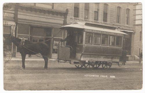 Consolidated Street Railway Company, Cottonwood Falls, Kansas - Page