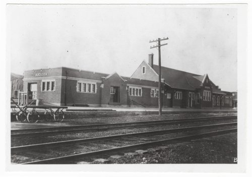 Atchison, Topeka and Santa Fe Railway Company depot, Augusta, Kansas - Page