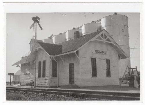 Union Pacific Railroad Company depot, Gorham, Kansas - Page