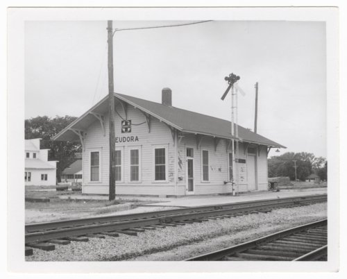 Atchison, Topeka and Santa Fe Railway Company depot, Eudora, Kansas - Page
