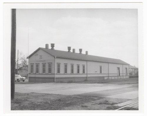 Atchison, Topeka & Santa Fe Railway Company freight depot, El Dorado, Kansas - Page