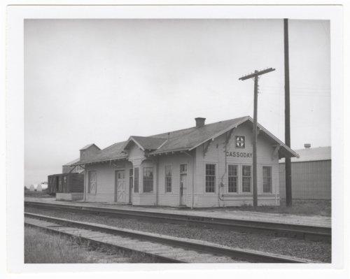 Atchison, Topeka and Santa Fe Railway Company depot, Cassoday, Kansas - Page
