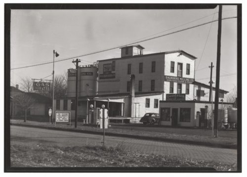 Saunders Milling Company and Goodrich gas station in Council Grove, Kansas - Page