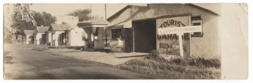 Rainbow Gardens tourist camp in Council Grove, Kansas - Page