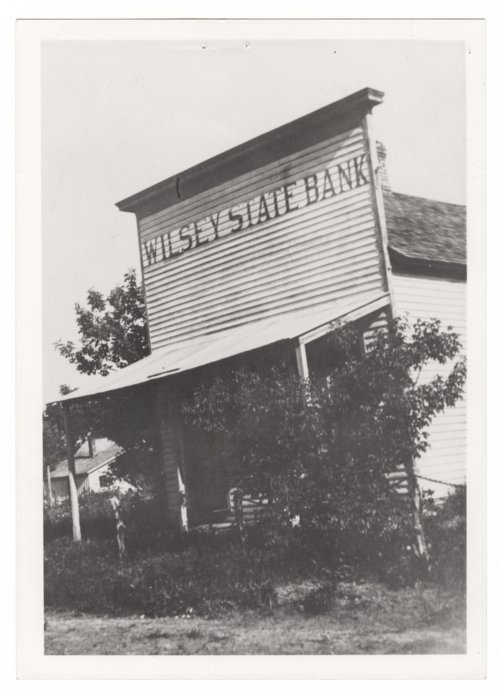 Wilsey State Bank in Wilsey, Kansas - Page