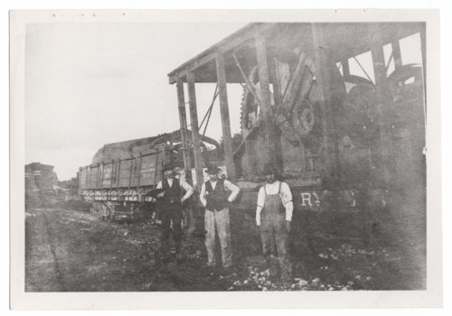 Unloading power unit for the J.O. Rochat flour mill at Helmick, Kansas - Page