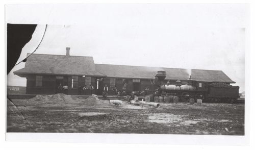 Union Pacific Railroad Company depot, Wallace, Kansas - Page
