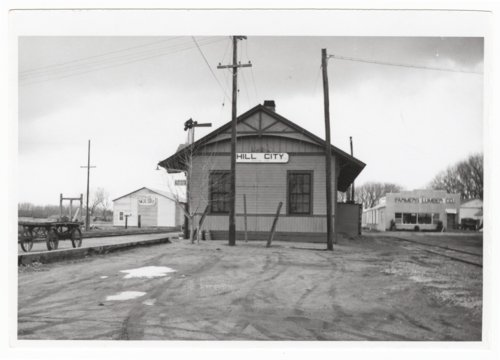 Union Pacific Railroad Company depot, Hill City, Kansas - Page