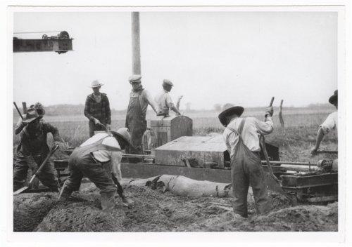 Road construction, Ellsworth, Kansas - Page