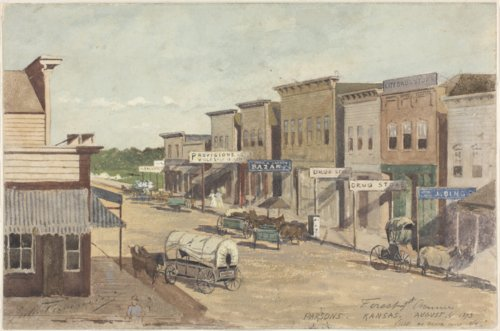Parsons, Kansas by Jules Tavernier - Page