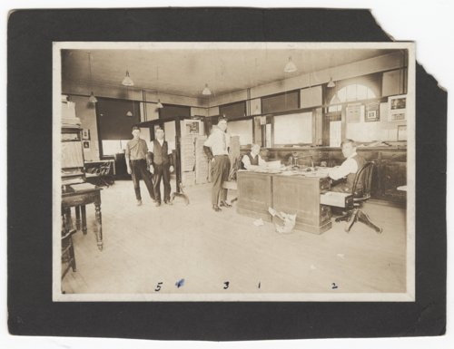 Atchison, Topeka & Santa Fe Railway Company's freight office, Dodge City, Kansas - Page