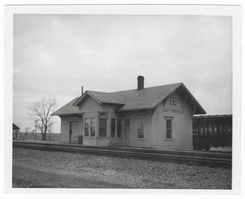 Atchison, Topeka & Santa Fe Railway Company depot, Saffordville, Kansas - Page